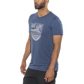 Columbia Laney Hill t-shirt Heren blauw
